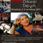 Plakat XII Wrzesińskiego Festiwalu Orkiestr Dętych 2017