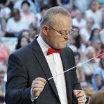 Jacek Rybczyński - juror XII Wrzesińskiego Festiwalu Orkiestr Dętych