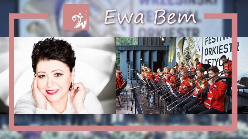 Koncert - Ewa Bem i Wrzesińska Orkiestra Dęta