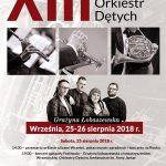 Plakat XIII Wrzesiński Festiwal Orkiestr Dętych